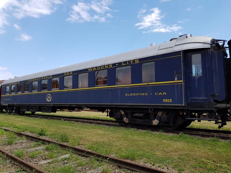 Schlafwagen CIWL des Typs WL-YU