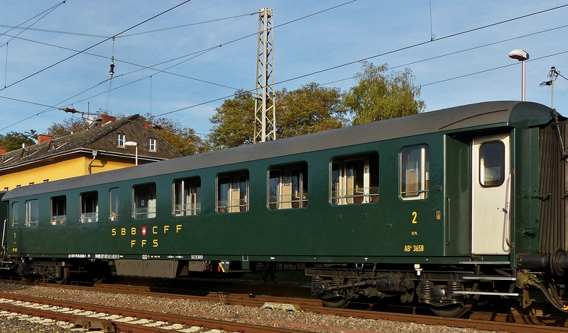 Reisezugwagen SBB 1./2. Klasse